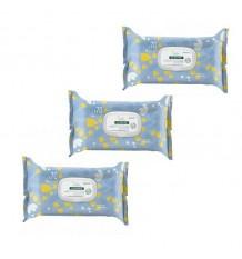 Klorane 3 Cleansing Wipes Soft 3x70 Units