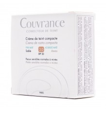 Avene Couvrance Crema compacta Oil free SPF 30 Arena 03