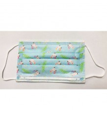 Mascarilla Higienica Infantil Azul Unicornios 10 Unidades