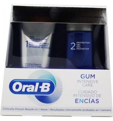 Oral B Sistema Cuidado Encias 85ml + Gel Protector 63ml