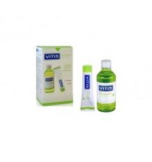 Pack Vitis Orthodontic Zahnpasta 100ml + Mundspülung 500ml