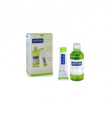 Pack Vitis Pasta profunda escova Orthodontic 100ml + Colutorio 500ml
