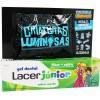 Lacer Junior Gel Menta 75 ml + Criaturas Luminosas