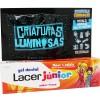 Lacer Junior Gel Fresa 75 ml Pack + Criaturas Luminosas