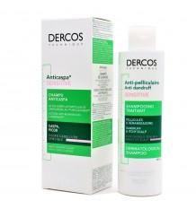 Dercos Shampooing anti-Pelliculaire Sensible, Sans Sulfates 200ml