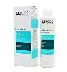Dercos Shampoo Sebum Control Treatment 200ml