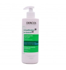 Dercos Vichy Shampoo Dandruff Hair Oily 390 ml