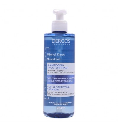 Dercos Mineral Doux Champú Mineral Suave Fortificante 400ml