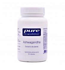Pure Dispositifs D'Encapsulation Ashagandha 60 Capsules