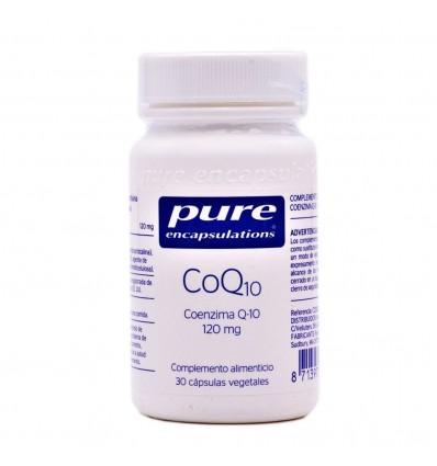 Pure Encapsulations CoQ10 120mg 30 Cápsulas Vegetales