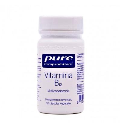 Pure Dispositifs D'Encapsulation De La Vitamine B12 90 Capsules Végétales