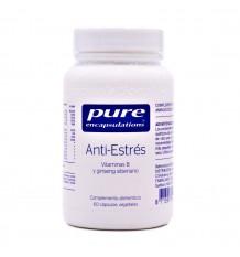 Pure Dispositifs D'Encapsulation Anti-Stress, 60 Capsules Végétales