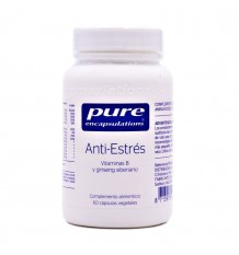 Pure Encapsulations Anti-Stress 60 Vegetable Capsules