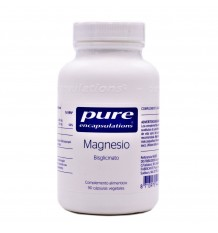 Pure Dispositifs D'Encapsulation De Magnésium 90 Capsules Végétales