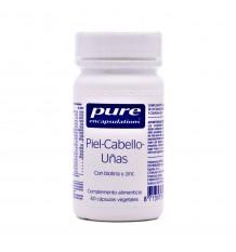 Pure Encapsulations Pele, Cabelo, Unhas 60 Cápsulas Vegetais