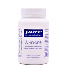 Pure Encapsulations All In One 60 Vegetable Capsules