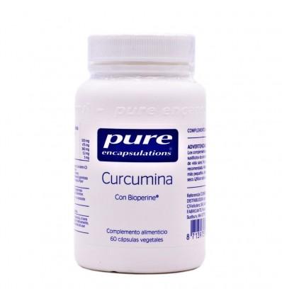 Pure Encapsulations Curcumina 60 Cápsulas Vegetales MOVILIDAD