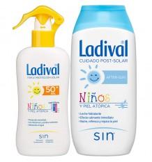 Ladival für Kinder 50 Spray 200 ml+After Sun, 200 ml