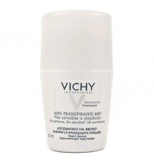 Vichy Deodorant Empfindliche Haut Enthaarung Roll-On 50 ml