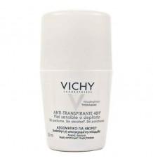 Vichy Déodorant peaux Sensibles Épilation Roll on 50 ml