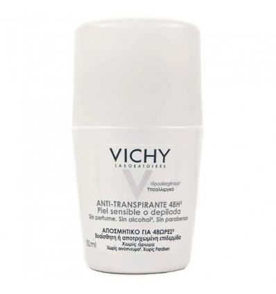 Vichy Desodorante Piel Sensible Depilada Roll On 50 ml