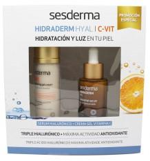 Sesderma Hidraderm Hyal Serum 30ml + C Vit Crema Gel 50ml