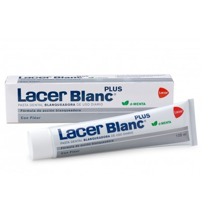 Lacer Blanc Plus Pasta Menta 125 ml