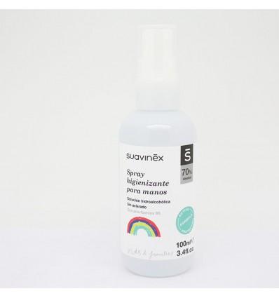 Suavinex Spray de Désinfection à la Main 70% de la Provitamine B5 100ml