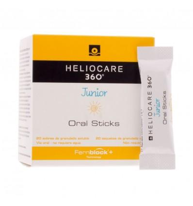 Heliocare 360 Júnior Oral sticks 20 Envelopes