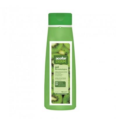 Acofarderm Gel de Banho Células Frescas Kiwi 750 ml