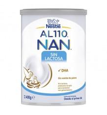 110 Nan sans lactose de lait 400 g