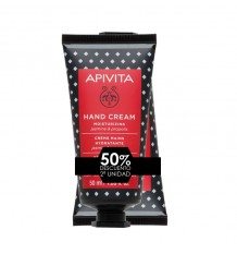Apivita Hand Cream Jasmine Propolis 50ml+50ml Duplo Promotion