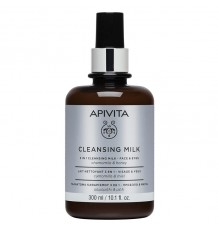 Apivita 3 in 1 Cleansing Milk 300ml