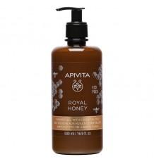 Apivita Royal Honey Gel de banho Cremoso 500ml
