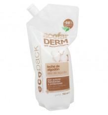 Acofarderm Bath Gel Milk Cotton Ecopack 750ml