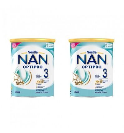 Nan Optipro 3 800g+800g duplo promocion