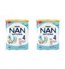 Nan Optipro 4 800g+800g duplo promoção