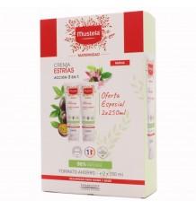 Mustela Mutterschaft Antiestrías-Creme, Schwangerschaftsstreifen zu Verhindern, Duplo 250 ml