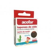 Acofar Tapones Oido Infantil Silicona 6 Unidades