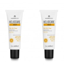 Heliocare 360 Gel Oil Free 50 50+50 ml Duplo Promocion