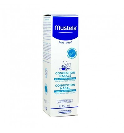 Mustela Spray Hipertonico Congestion Nasal 150 ml