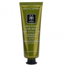 Apivita Face Mask Peeling-Tiefe mit Olivenöl 50ml