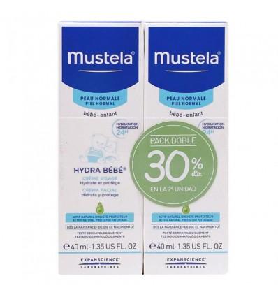 Mustela Hydra Bebe Cara 40ml+40ml Duplo Promocion