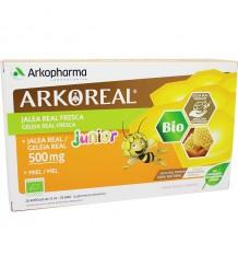 Arkoreal Jalea Real Junior 500 mg 20 Ampollas