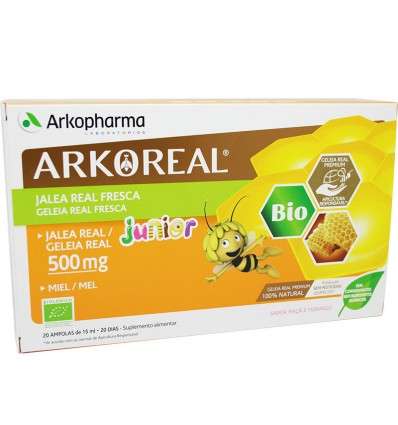 Arkoreal Jalea Real Junior 500 mg 20 Ampollas