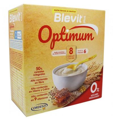Blevit Optimum 8 Cereal Honey 400g