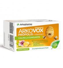 Arkovox Própolis Vitamina C Citricos 24 Comprimidos