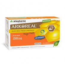 Arkoreal Geléia Real Mega Forte 2500 mg sem açúcar 20 Ampolas