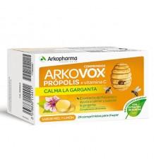 Arkovox Propolis and Vitamin c Honey 24 Tablets