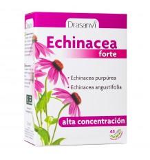 Echinacea Forte De 45 Capsules Végétariennes Drasanvi